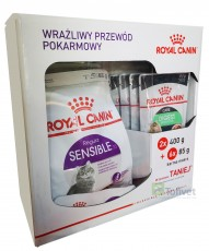 Royal Canine SENSIBLE 2 x 400g + 6 saszetek