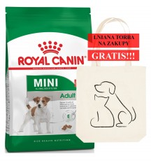 ROYAL CANIN Mini Adult 8kg + Torba GRATIS!!!