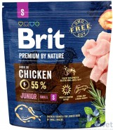 BRIT Premium by Nature Junior S 1kg NOWA FORMUŁA!