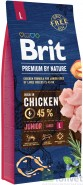 BRIT Premium by Nature Junior Large 15kg NOWA FORMUŁA!
