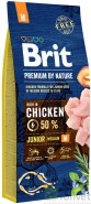 BRIT Premium by Nature Junior M 15kg NOWA FORMUŁA!
