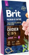 BRIT Premium by Nature Junior S 8kg NOWA FORMUŁA!