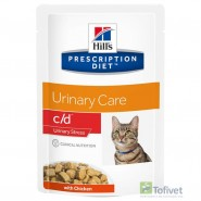 HILL'S PD Feline c/d Urinary Stress Chicken 85g