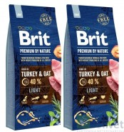 BRIT Premium by Nature Light 2x15kg