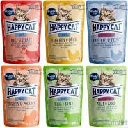 HAPPY CAT ALL MEAT Adult Cielęcina Jagnięcina 85g