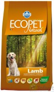 FARMINA ECOPET Natural Lamb Medium 2,5kg