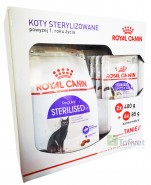 Royal Canin STERILISED  2x400g +6 saszetek