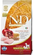 FARMINA N&D LOW GRAIN Chicken Pomegranate SENIOR Mini & Medium 800g