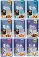 BRIT Premium Cat Gravy Fillets Chicken KURCZAK sos 85g