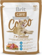 BRIT CARE Cat COCCO Gourmand Kaczka Łosoś 400g