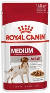 ROYAL CANIN Medium Adult w sosie 140g