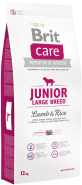 BRIT Care Junior L Large Breed Lamb & Rice 12kg