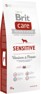 BRIT Care SENSITIVE Venison & Potato All Breed 12kg