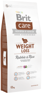 BRIT Care WEIGHT LOSS Rabbit & Rice All Breed 12kg
