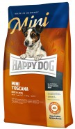 HAPPY DOG MINI TOSCANA 300g Kaczka łosoś