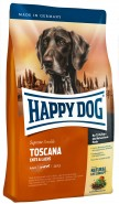 HAPPY DOG Supreme Sensible TOSCANA 300g Kaczka łosoś