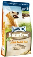 HAPPY DOG NaturCroq ADULT Rind & Reis 1kg Wołowina ryż