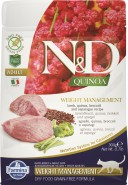 FARMINA N&D QUINOA CAT Weight Management Lamb & Broccoli 300g
