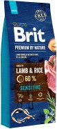 BRIT Premium by Nature Lamb & Rice Sensitive 15kg