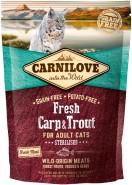CARNILOVE Fresh Carp & Trout Sterilised dla kota 400g