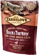CARNILOVE Duck & Turkey Large Breed Duża rasa 400g