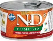 FARMINA N&D DOG PUMPKIN Chicken Pomegranate Kurczak dynia granat 140g