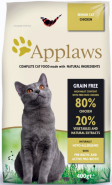 APPLAWS Senior Cat Chicken 400g