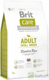 BRIT Care Adult S Small Breed Lamb & Rice 3kg