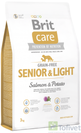 1c29bdc8124908 BRIT Care SENIOR & LIGHT All Breed Salmon & Potato - Karma dla psów ...