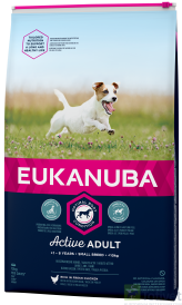 EUKANUBA Active Adult Small Breed Chicken 15kg