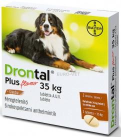 Drontal® Plus 150/144/50 mg ízesített tabletta A.U.V.